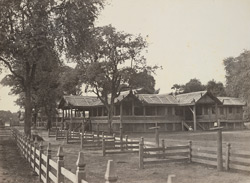 The Residency, Mandalay, 1868